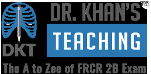 Dr Khan's Teaching